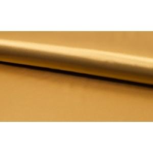 Outlet stoffen -Satijn goud