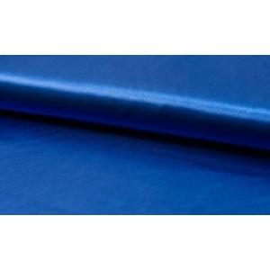 Satijn blauw - Luxe satijn stof op rol - 100% polyester