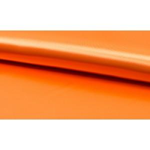 Satijn oranje - Luxe satijn stof op rol - 100% polyester