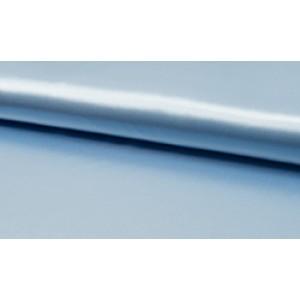 Satijn baby blauw - Luxe satijn op rol - 100% polyester