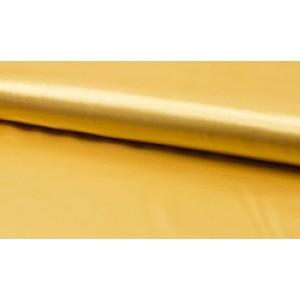 Satijn licht goud - Luxe satijn op rol - 100% polyester