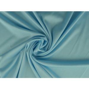 Stretch voering - Aqua blauw