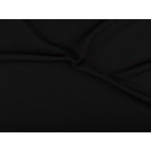 Texture stof - Zwart - 3 meter