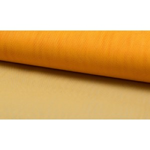 Tule geel - Tule stof op rol - 100% nylon