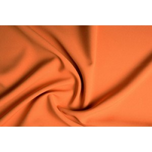 Texture  - Donker Oranje - 100% polyester