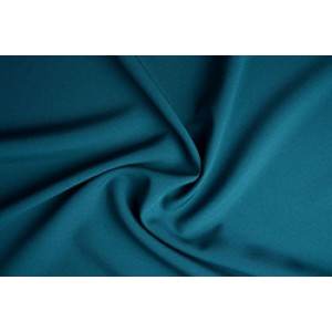 Texture  - Donkercyaan - 100% polyester