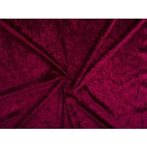 Velours de panne - Bordeaux rood - 2 meter
