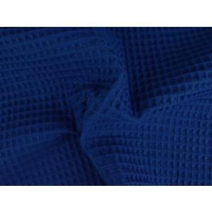 Wafelstof - Donkerblauw